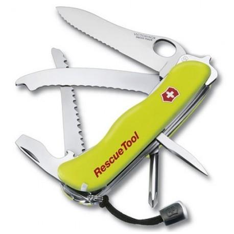 Nôž VICTORINOX 0.8623.MWN Rescue Tool, 111 mm - luminiscenčná žltá