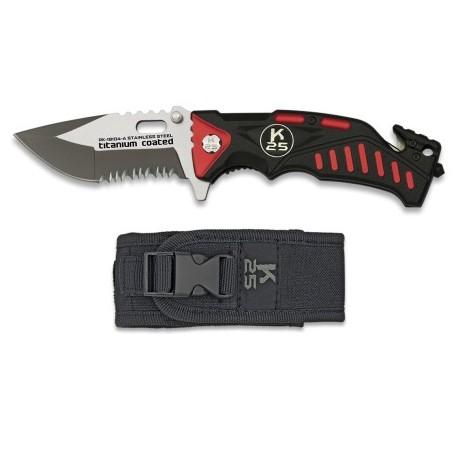 Nôž otvárací K25 18104-A FOS s puzdrom