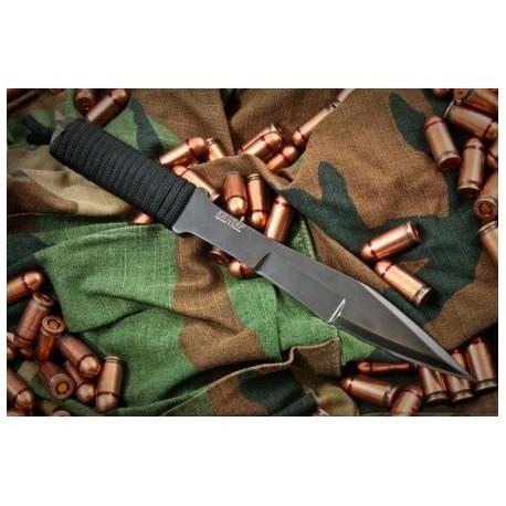 Nôž vrhací KIZLYAR Stervec - čierny