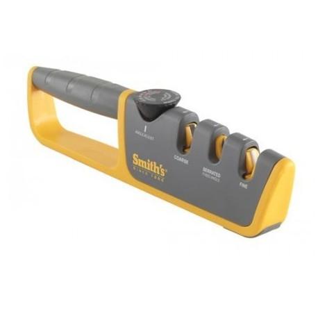Brúska na nože SMITH´S Adjustable Angle Pull-Thru SM-50264, nastaviteľný uhol brúsenia - žltá