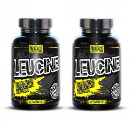 1+1 Zadarmo: Leucine od Best Nutrition