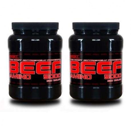 1+1 Zadarmo: Amino BEEF 5000 od Best Nutrition