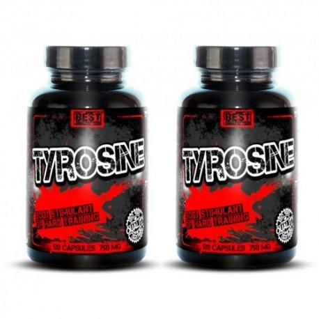 1+1 Zadarmo: Tyrosine od Best Nutrition
