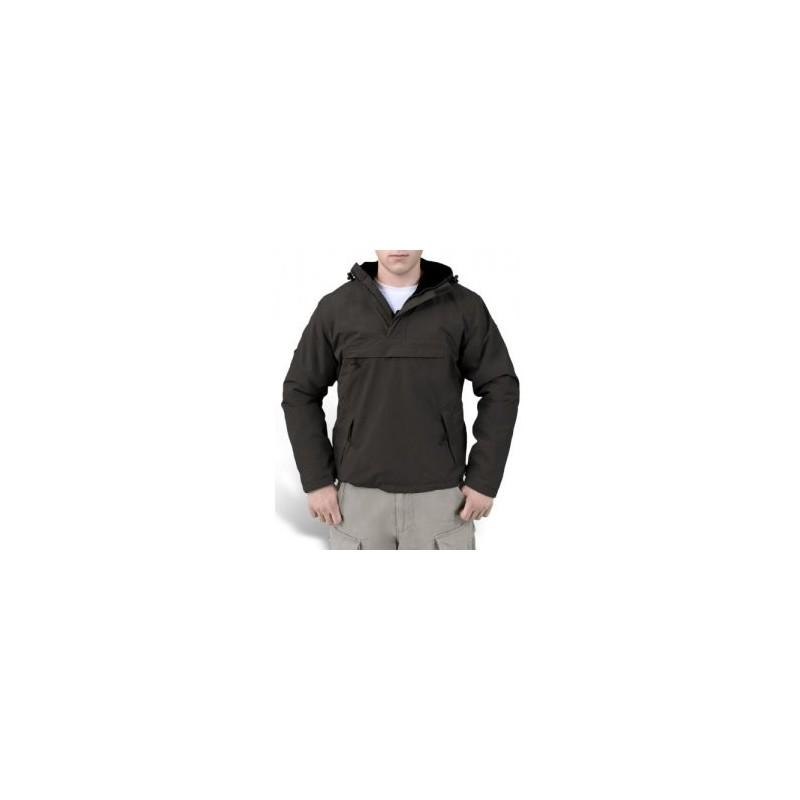 BUNDA SURPLUS TEX s kapucňou - čierna