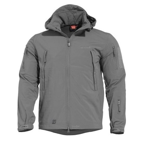 Bunda nepremokavá PENTAGON Artaxes Level V, softshell - wolf grey