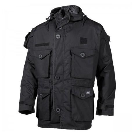 Kabát MFH Commando Smock RIP/STOP 03482A - čierny