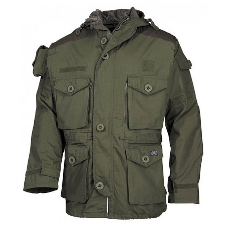 Kabát MFH Commando Smock RIP/STOP 03482B - olivový