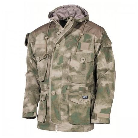 Kabát MFH Commando Smock RIP/STOP 03482E - HDT camo FG
