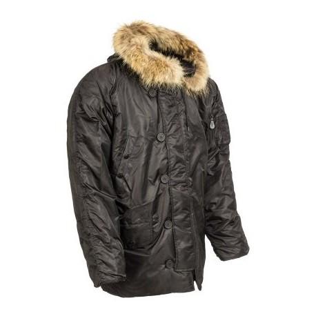 Kabát RTX N3B - čierny
