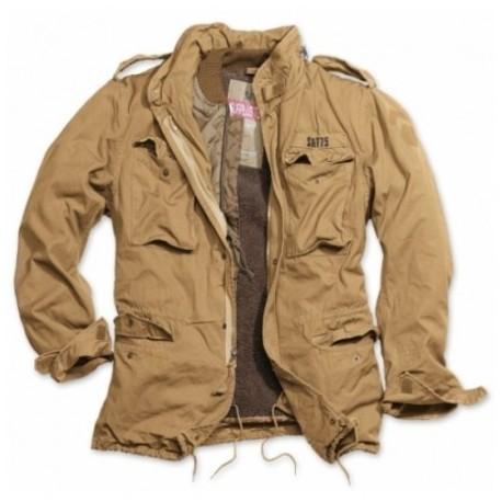 Kabát Surplus M-65 Regiment - béžový