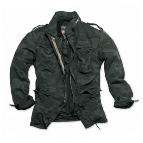Kabát Surplus M-65 Regiment - blackcamo
