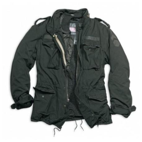 Kabát Surplus M-65 Regiment - čierny