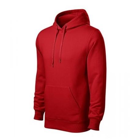 MIKINA Basic s kapucňou - červená