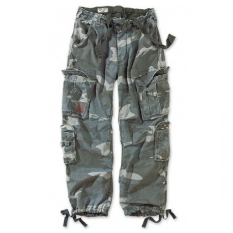 Nohavice SURPLUS Airborne Vintage - night camo