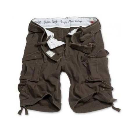 Nohavice krátke Division short - hnedé