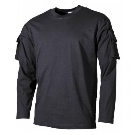 "Tričko ""US""  MFH 00123A - čierne"