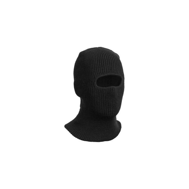 Kukla pletená 1-otvorová MFH 10893A klasik - čierna