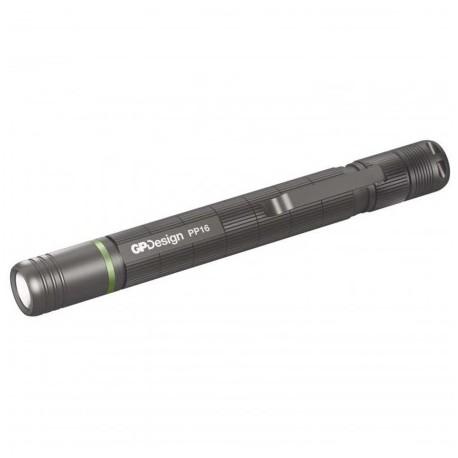 Svietidlo ručné GP Design PP16 3W LED Cree XP-E2, P8406 - titán