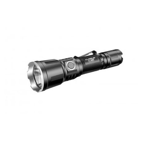 Svietidlo ručné KLARUS XT11X, XHP70.2 LED - čierne