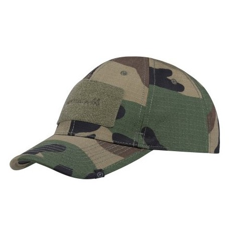 Šiltovka PENTAGON Tactical BB Cap - woodland