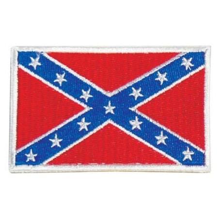 """Nášivka """"Južanská vlajka"""" 73x50mm s bielym okrajom so SZ"""