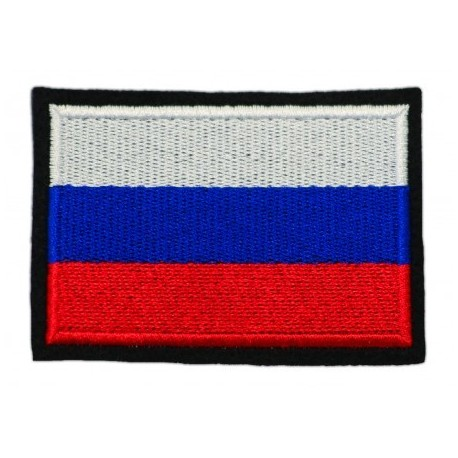 "Nášivka ""Ruská vlajka"" so SZ - 80x68mm"