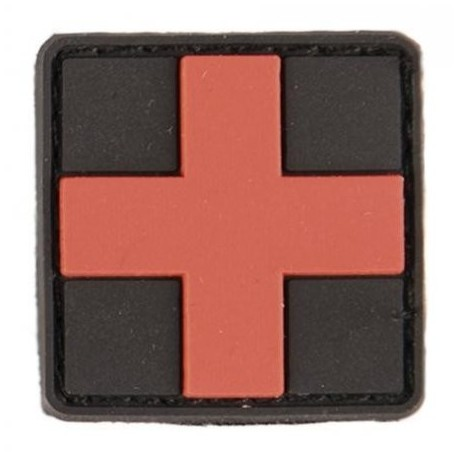 Patch MIL-TEC First Aid 3D - čierny