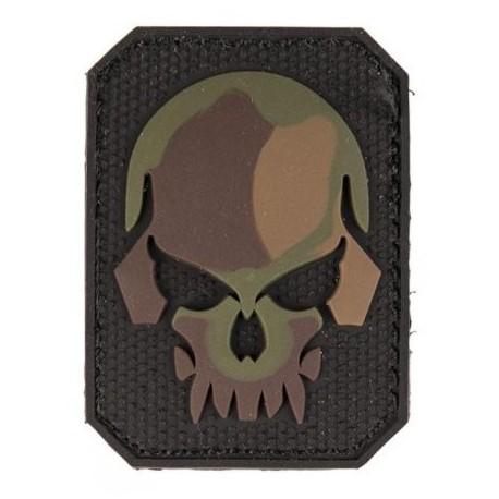 Patch MIL-TEC Skull 3D - camo