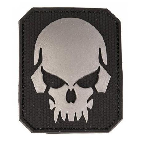 Patch MIL-TEC Skull 3D - čierna
