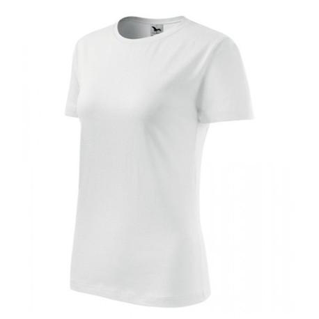 """Tričko dámske """"Basic"""" - biele"""