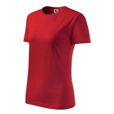 """Tričko dámske """"Basic"""" - červené"""