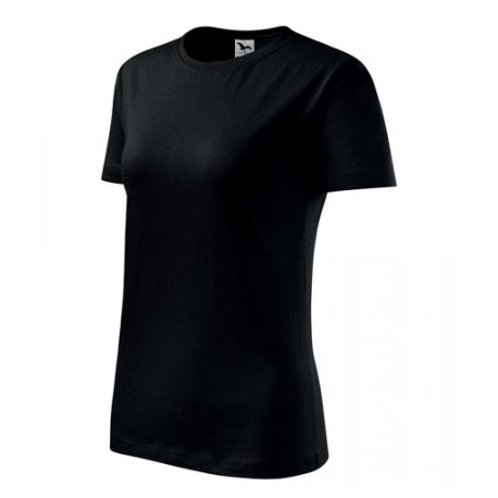 """Tričko dámske """"Basic"""" - čierne"""