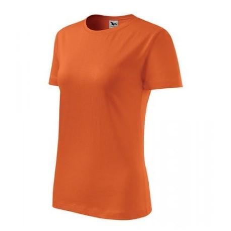 """Tričko dámske """"Basic"""" - oranžové"""
