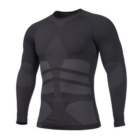 Tričko termo PENTAGON Plexis, s dlhým rukávom - čierne