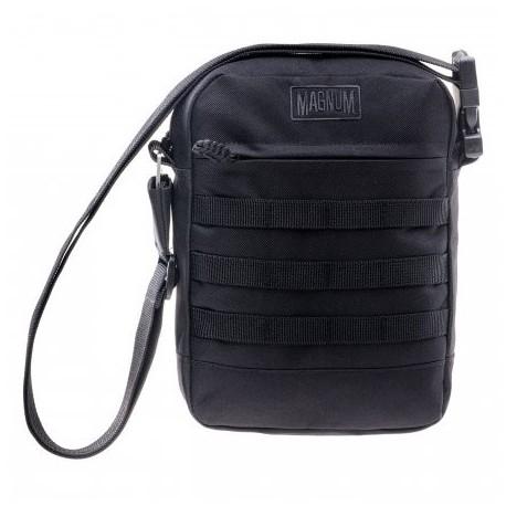 Taška cez rameno MAGNUM Essential Larus, MOLLE - čierna