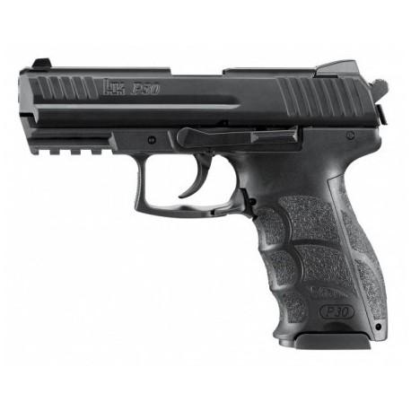 Airsoftová manuálna pištoľ Heckler & Koch P30 - čierna BB 6mm