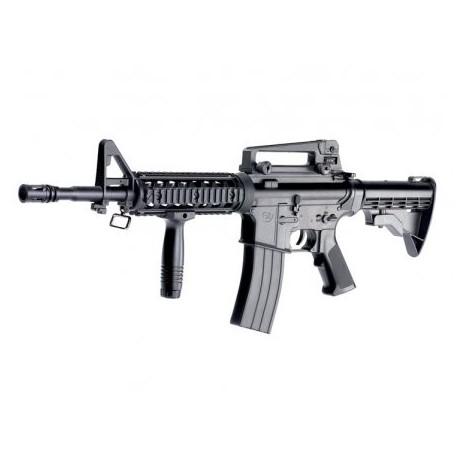 """Airsoftový manuálny samopal """"Colt M4A1 R.I.S."""" - čierny BB 6mm"""