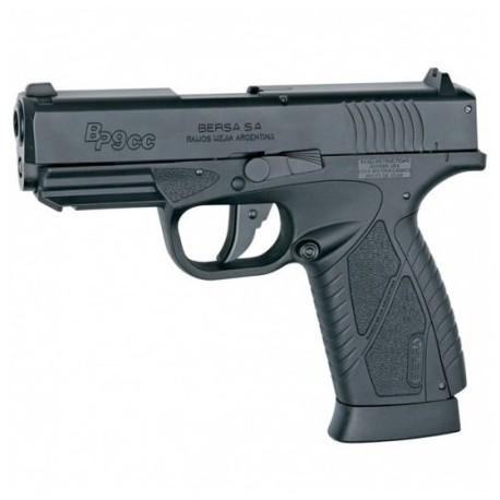 """Airsoftová CO2 pištoľ """"ASG Bersa BP9CC"""" - čierna BB 6mm"""