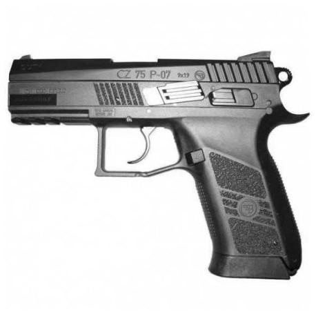 """Airsoftová CO2 pištoľ """"ASG CZ 75 P-07 Duty"""" BB 6mm - blowback"""