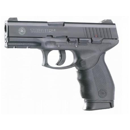 "Airsoftová CO2 pištoľ ""TAURUS PT 24/7"" - čierna BB 6mm"