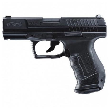 "Airsoftová CO2 pištoľ ""Walther P99 DAO"" - čierna BB 6mm"