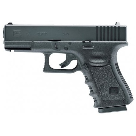 Airsoftová CO2 pištoľ GLOCK 19 BB 6mm - čierna