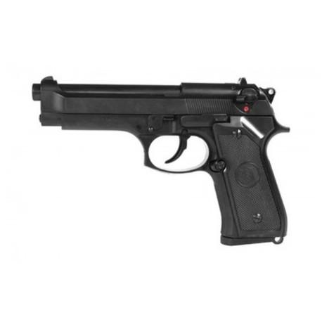Airsoftová plynová pištoľ Beretta M9 Vertec Full Metal - BlowBack BB 6mm