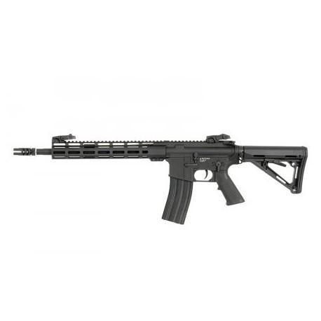 Airsoftový elektrický samopal ARCTURUS AT-AR01-CB AR-15 Carbine, kal. 6mm BB - čierny