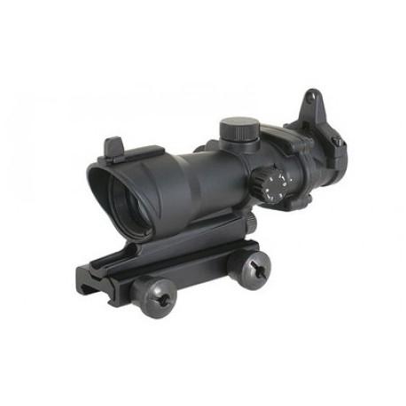 Kolimátor pre airsoftové zbrane AIM-O Rifle Red Dot 1x32 ACOG - čierny
