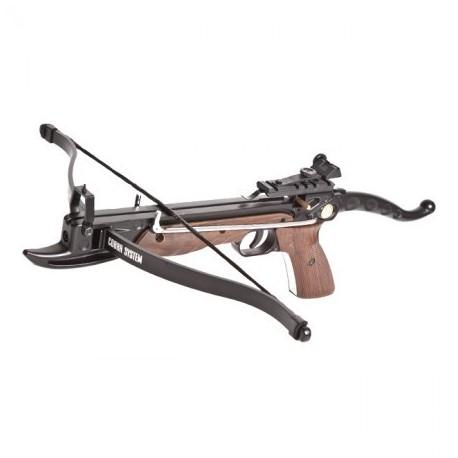 "Kuša pištoľová reflexná ""Cobra Aluminium 80lb Oak Camo"""