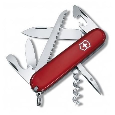 Nôž VICTORINOX 1.3613 Camper - červený 91 mm